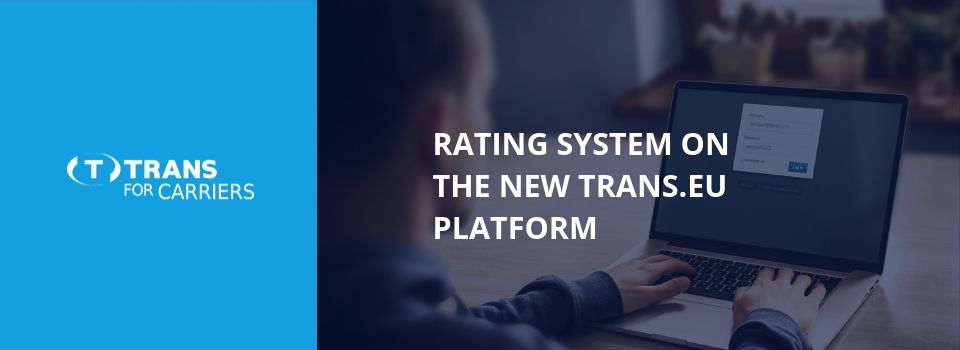 Jak funguje ratingový (hodnotící) systém v nové databázi Trans.eu?