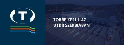 Többe kerül az útdíj Szerbiában
