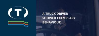 Vodič kamiónu ukázal príkladné správanie, ale niektorí ľudia mu vulgárne nadávali