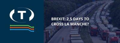 Brexit: 2,5 dne na přechod přes La Manche? Nejhorší obavy dopravců jsou potvrzeny.