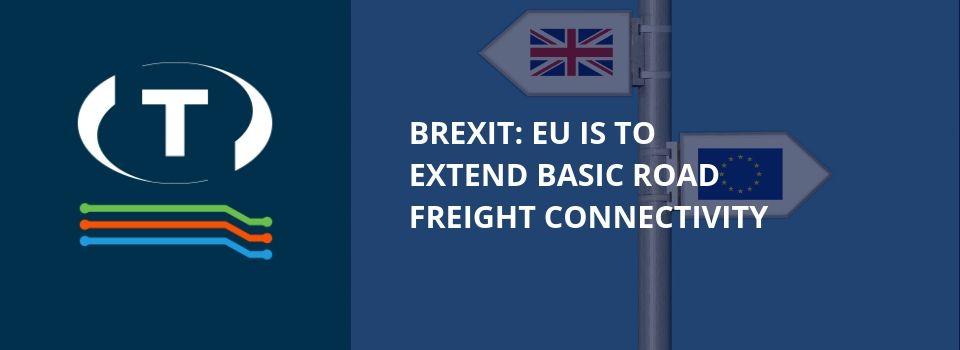 Brexit: EU má do konce července 2020 prodloužit základní připojení k silniční nákladní dopravě.
