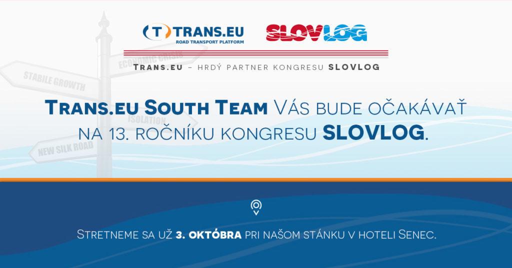 Trans.eu na konferencii SLOVLOG 2019