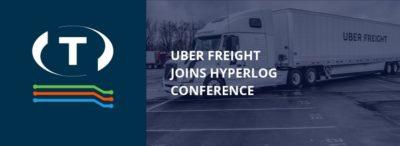 Uber Freight se připojuje ke skupině společností, které se zúčastní na konferenci HyperLOG