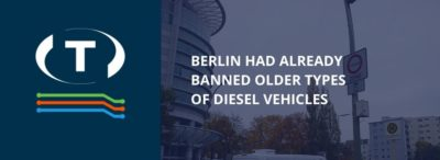 Berlin egyes utcáin betiltották a dízelmotoros járművek behajtását