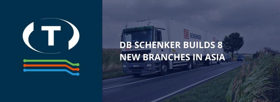 DB Schenker staví v Asii 8 nových poboček