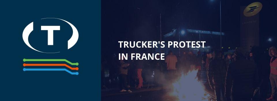 Protest řidičů ve Francii: kolony na cestách déle než 600 km