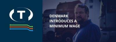 Dánsko zavádí minimální mzdu pro zahraniční řidiče.