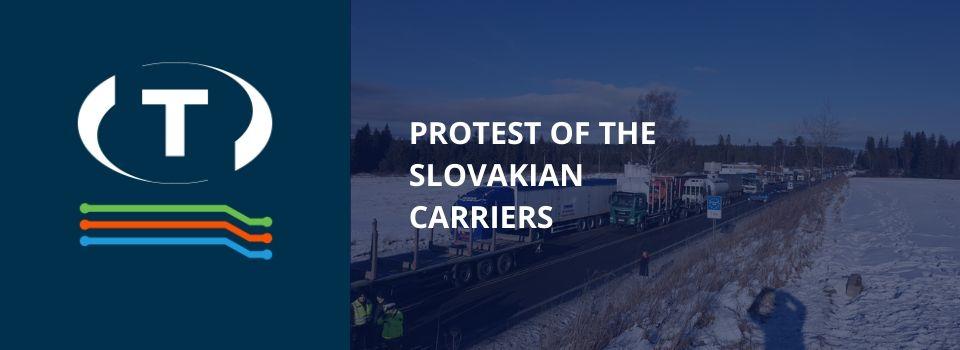 Sztrájkolnak a fuvarozók Szlovákiában: több határátkelőt zártak le