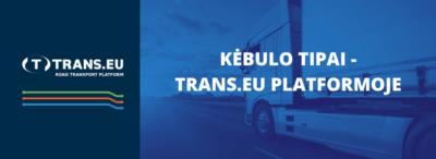Kėbulo tipai - Trans.eu Platformoje