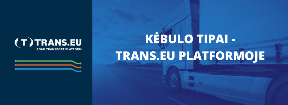 Kėbulo tipai – Trans.eu Platformoje