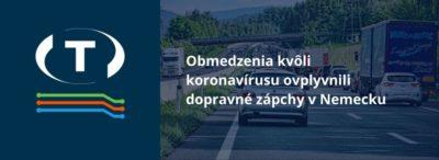 Obmedzenia kvôli koronavírusu ovplyvnili dopravné zápchy v Nemecku