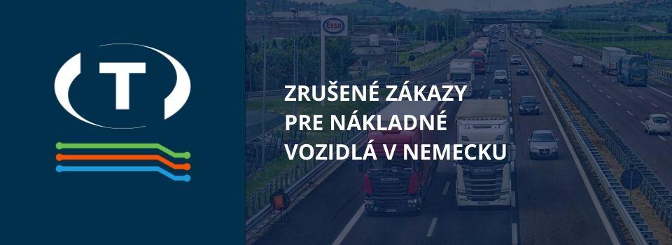 Zrušené zákazy pre nákladné vozidlá v dvoch nemeckých spolkových republikách kvôli koronavírusu