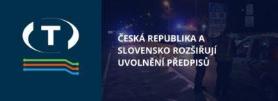 Česká republika a Slovensko rozšiřují uvolnění předpisů týkajících se hodin řidičů