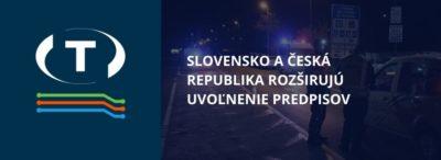 Česká republika a Slovensko rozširujú uvoľnenie predpisov týkajúcich sa hodín vodičov
