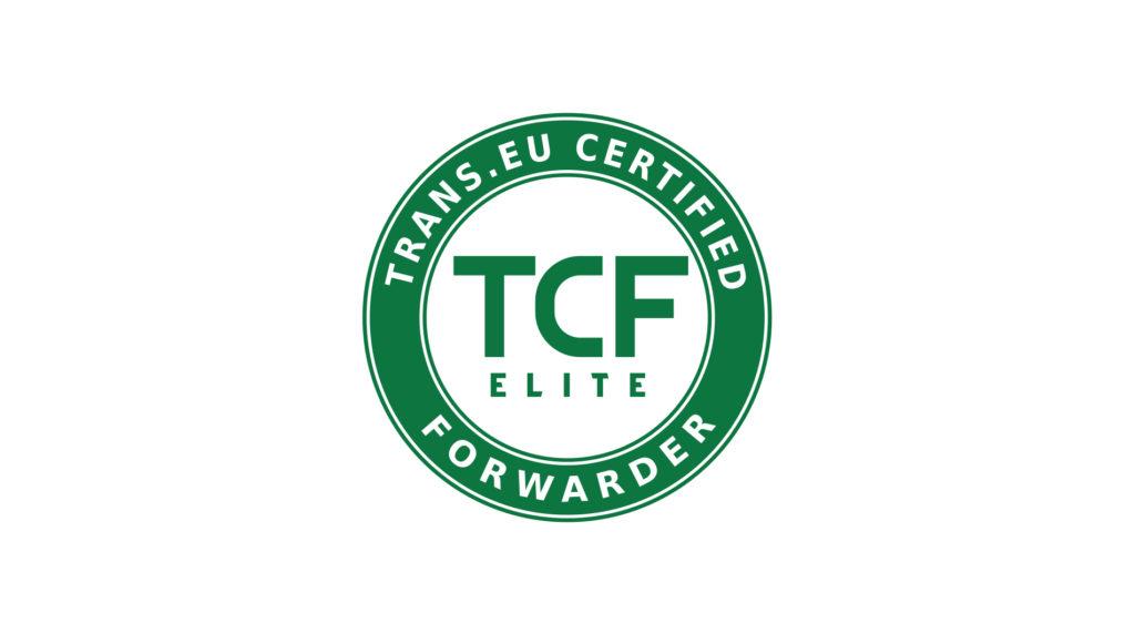 Doceniamy solidnych płatników! Kolejne spedycje z certyfikatem TCF Elite.
