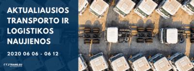 Transporto ir Logistikos naujienos: aktualiausia informacija | Birželio 06 - 12
