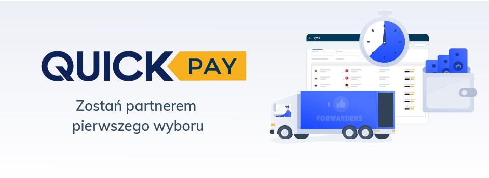 Zostań partnerem pierwszego wyboru na Trans.eu dzięki QuickPay