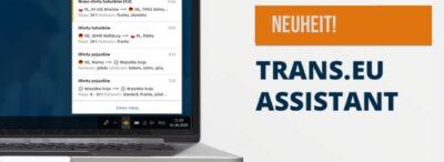 Optimieren Sie Ihre Arbeit auf der Plattform dank des Trans.eu-Assistenten.