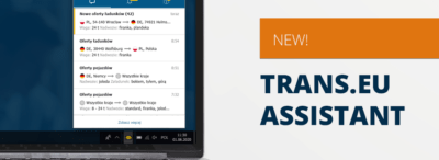 Improve your work on the Platform with Trans.eu Assistant