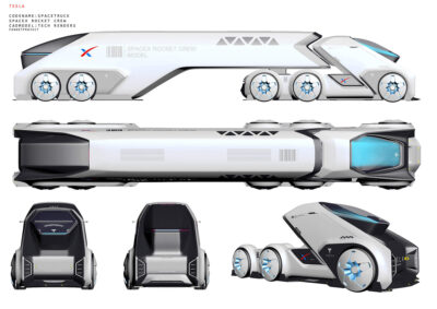 Kelių transportas Marse
