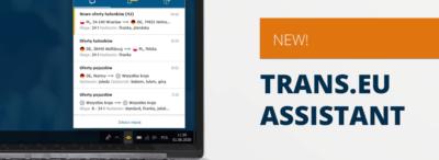 Подобрете работата си с платформата с помощта Trans.eu Assistant
