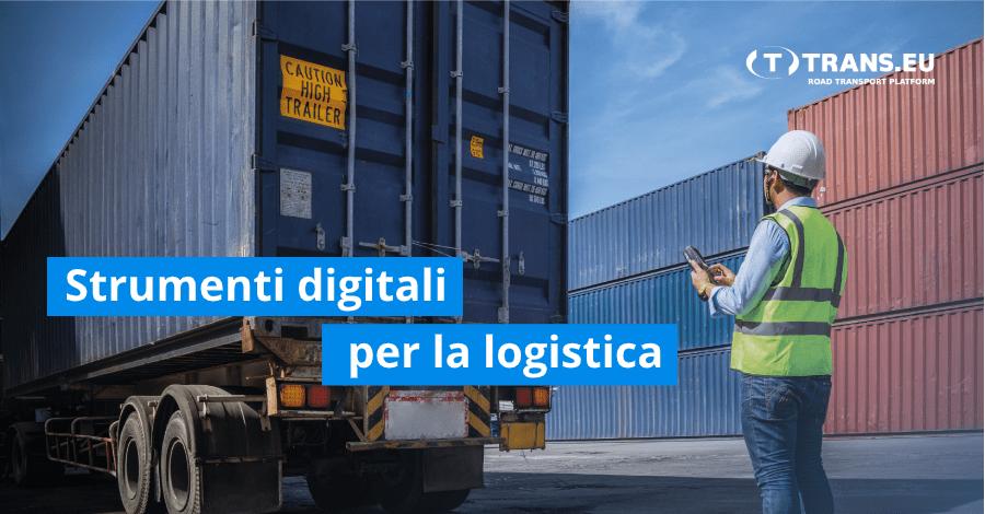Strumenti pratici per automatizzare il lavoro dello specialista in  logistica