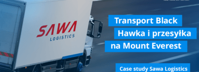 Transport Black Hawka i przesyłka na Mount Everest. O tym, jak ważna jest szybkość rozmawiamy z Sawa Logistics