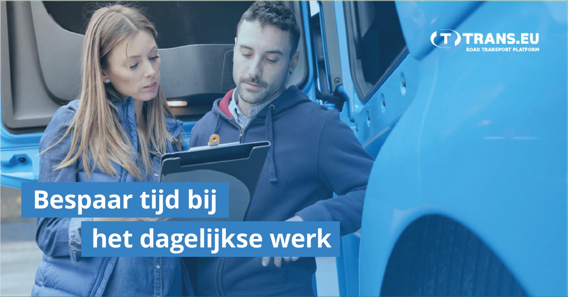 5 eenvoudige manieren om het dagelijkse werk van de vervoerder te vergemakkelijken