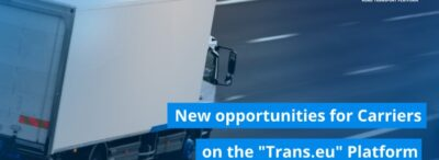 "New opportunities for Carriers on the ""Trans.eu"" Platform"
