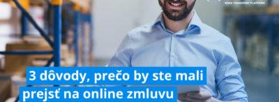 3 dôvody, prečo by ste mali prejsť na online zmluvu