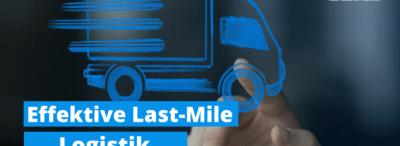 Effective last mile-logistiek