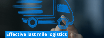 Effective last mile logistics