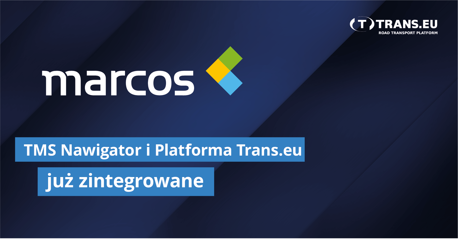 TMS Nawigator już zintegrowany z Platformą Trans.eu