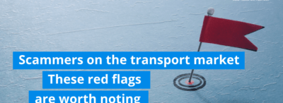Scammers on the transport market. These red flags are worth noting.